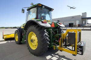 M-B Companies Rely on Twin Disc for Runway Broom