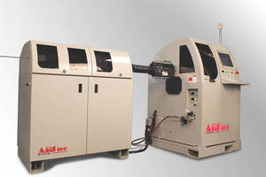 Inline Wire Cleaning System offers standalone operation.