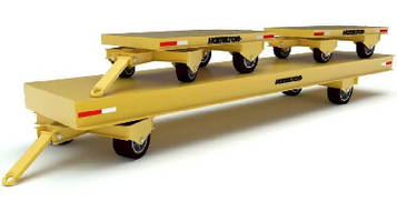 Industrial Trailers offer 20,000-40,000 lb load capacity.