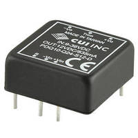 Encapsulated DC-DC Converters measure 1 x 1 x 0.40 in. .