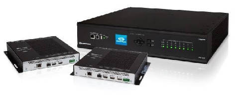 Fiber Transmitters and Receivers support end-to-end HDCP 2.2.