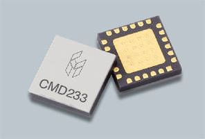 Distributed Amplifier ranges from 2-18 GHz. .