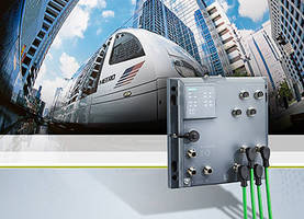 Ethernet Switch ensures reliable harsh environment communication.
