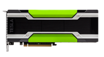 HPC Systems are available with NVIDIA Tesla GPU.