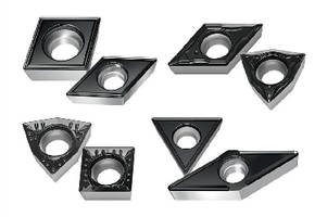 Positive Turning Inserts support wide range of applications.