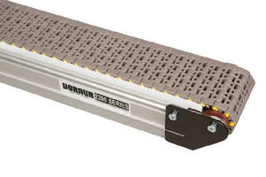 Modular Belt Conveyors offer speeds up to 250 fpm.