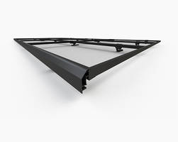 Solar Panel Rail offers single tool installation.