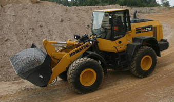 Compact Wheel Loader combines power, size, and versatility.