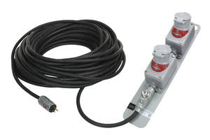 Dual Outlet 50 ft Extension Cord has explosionproof design.