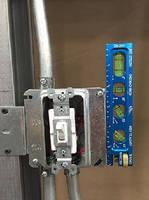 Precision Levels help make perfect conduit bends.