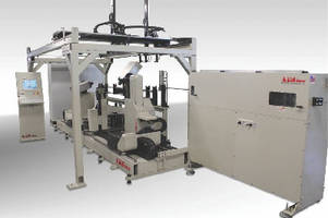 Wire Bending Machine features twin-headed design.
