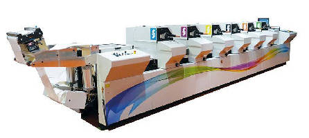 Offset Label Press produces short- to medium-run orders.