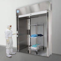 Cleanroom Roll-Up Pass-Through Chambers