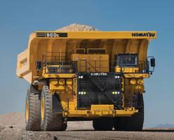 Mining Haul Truck provides 400-ton capacity.