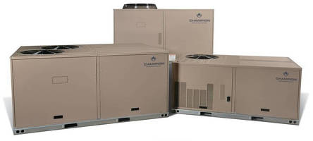 Packaged Heat Pumps, A/C Units minimize installation effort.