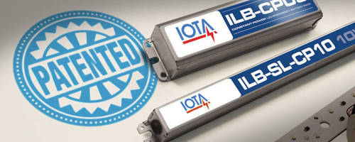 IOTA Awarded Patent for ILB-CP Emergency LED Drivers