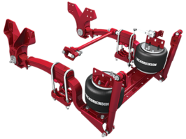 Rear Air Suspension has 10,000 lb rated capacity.