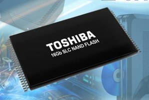 SLC NAND Flash Memory (24 nm) targets industrial applications.