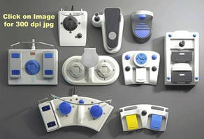 Foot Switches are designed for medical imaging equipment.