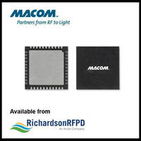 MACOM's MASW-011071 20 W X-Band SPDT Switch housed in 44-lead PQFN plastic package.