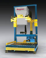 Flexicon's new Bulk Bag Filler feature powered height adjustment of the fill head.