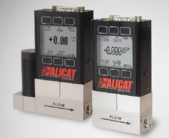 Mass Flow Meters and Controllers suit high pressure systems.
