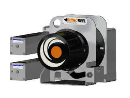 Mill Duty Cable Reel features linear spring motor.
