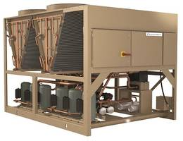 Air-Cooled Scroll Chillers are rated from 55-200 tons.