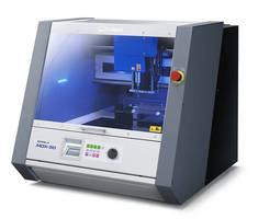 Automated 3D Milling Machine serves diverse applications.