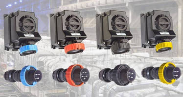 Plugs, Receptacles safely connect power in industrial locations.