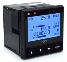 New Signet 9950 Dual Channel Transmitter performs two measurement reading simultaneously.