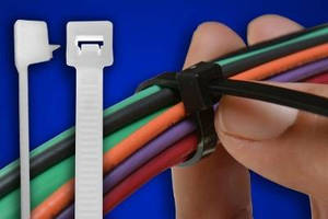 Releasable Cable Ties with extended pawl from Advanced Cable Ties, Inc.