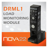 DRML1 Load Monitoring Module monitors up to 8 heating elements from 1.2 Amps up to 50 Amps current range.
