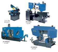 Band Saws handle variety of metal cutting applications.