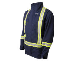 Flame-Resistant Outerwear targets oil and gas workers.