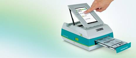 Portable Card Printer is designed for industrial use.
