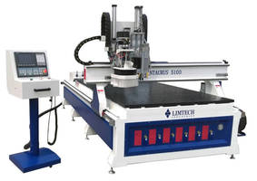 Feature-Optimized CNC Router has lightweight frame.