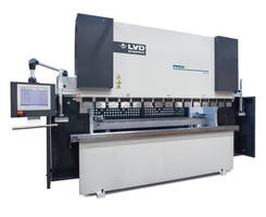 PPED Series Hydraulic Press Brakes From LVD STRIPPIT feature TOUCH-B graphical icon-driven CNC controller.
