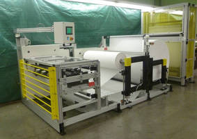 Heat Seal Butt Splicer allows non-stop production.