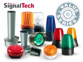 SignalTech Products feature Audible/visual product combinations.