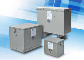 Distribution Transformers feature completely enclosed design.