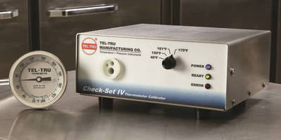 Thermometer Calibrators verify instrument reading accuracy.