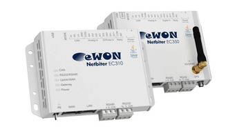 HMS to Offer the Netbiter Remote Management Solution Under the eWON® Brand