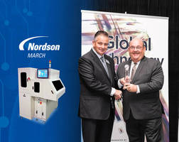 Nordson MARCH Receives Global Technology Award for FlexTRAK-CDS High-volume Plasma System
