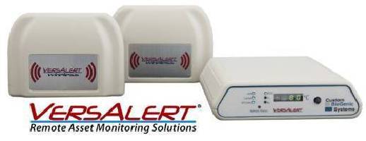 Asset Monitoring System tracks temperature-sensitive equipment.