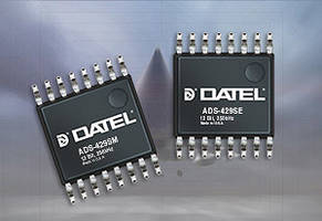 Multi-channel Analog-to-Digital converters, ADS-429 from Datel f featuring 12-bit resolution.