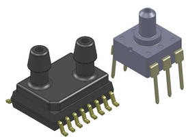 BLC Series Low Pressure sensors feature multiple port options.