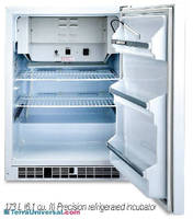 Refrigerated Incubators feature temperature range of 14-140°F.