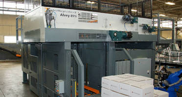 Row-Forming Palletizer combines usability and versatility.
