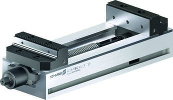 Clamping Vise suits raw and finished part machining.